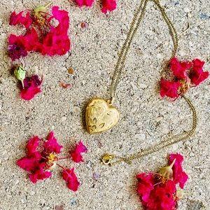 Vintage Carla 1/20 12K Gold-Filled Locket Necklace